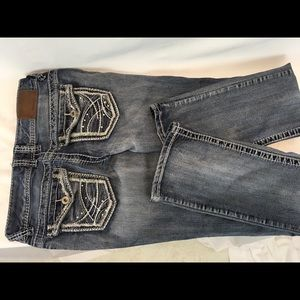 Maurice's Skinny Leg Jeans Size 1/2 Ref